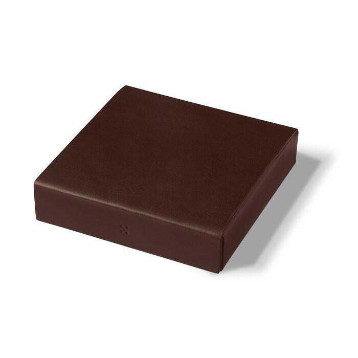 LGNDR Leather Case ETWEE Square Mokka